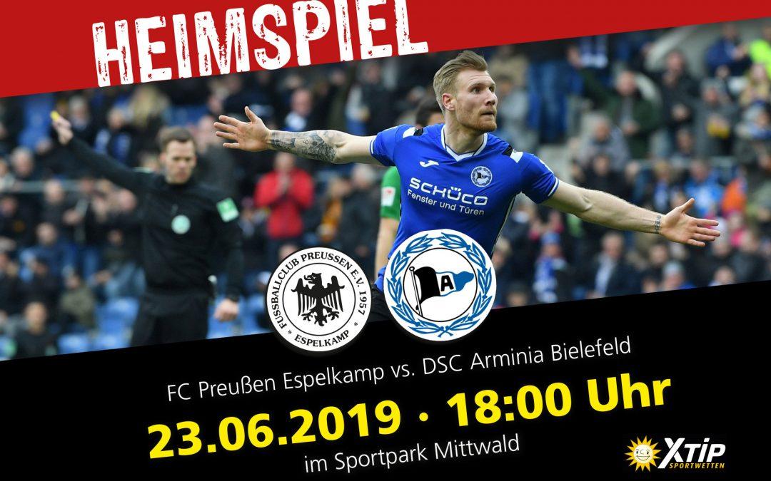 Preußen Espelkamp vs. DSC Arminia Bielefeld