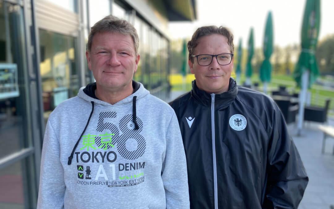Neues Trainer-Duo!